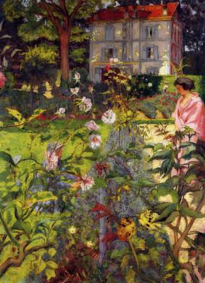 Painting - Garden At Vaucresson by Edouard Vuillard