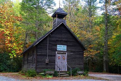 Photograph - Garden Creek Baptist Church by Kathryn Meyer