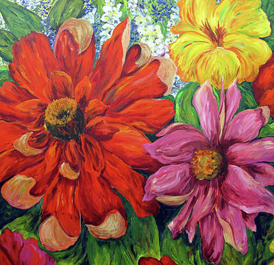 Painting - Garden Delight   by Nancy Day