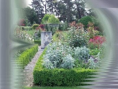 Digital Art - Garden Entrance by Nancy Pauling