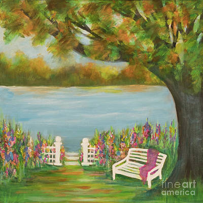 Painting - Garden Gate by Pati Pelz