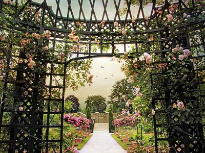 Photograph - Garden Gazebo by Jessica Jenney