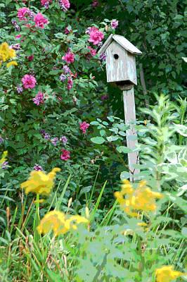 Floral Digital Art Digital Art - Garden Magic by Suzanne Gaff
