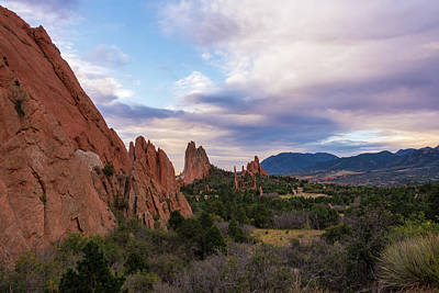 Photograph - Garden Of The Gods - Colorado Springs by Brian Harig