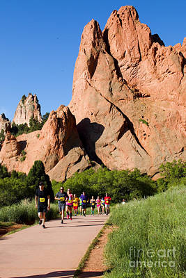 Steven Krull Royalty-Free and Rights-Managed Images - Garden of the Gods Ten Mile Run in Colorado Springs by Steven Krull