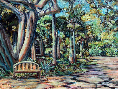 Painting - Garden Path by Banning Lary
