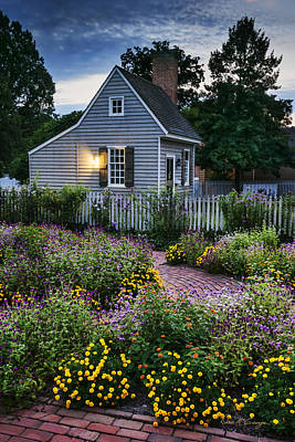 Photograph - Garden Path by Dan McGeorge