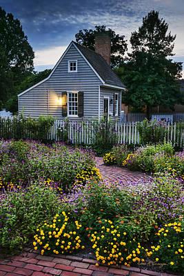 Photograph - Garden Path by Dan McGeorge