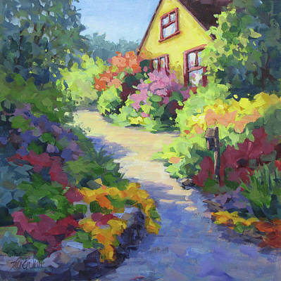 Painting - Garden Path by Karen Ilari