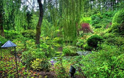 Landscapes Digital Art - Garden by Super Lovely