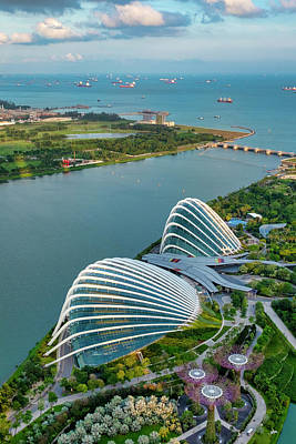 Photograph - Gardens By The Bay by Fabrizio Troiani