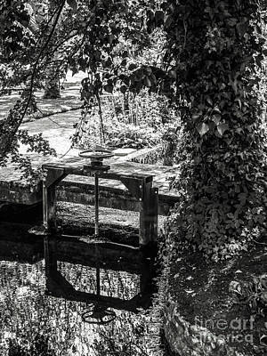 Photograph - Gardens Of Bishops Palace Wells England by Lexa Harpell
