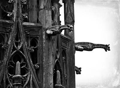 Photograph - Gargoyles by Brenda Conrad