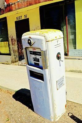 Photograph - Gas Pump by Brian Sereda