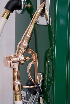 Gas Pump Handle Art Print by David Campione