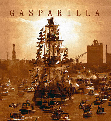 Photograph - Gasparilla Invasion  by David Lee Thompson