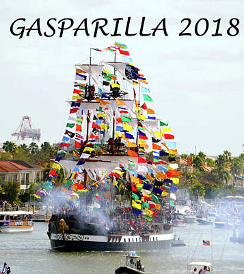 Photograph - Gasparilla Work D by David Lee Thompson