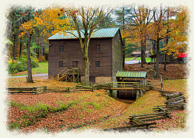 Photograph - Gastons Mill by John M Bailey
