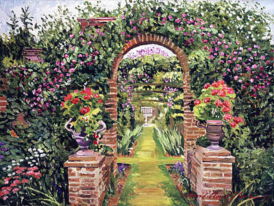 Painting - Gateway Of Brick by David Lloyd Glover