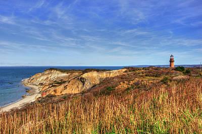 Photograph - Gay Head Lighthouse - Martha's Vineyard, Ma by Joann Vitali
