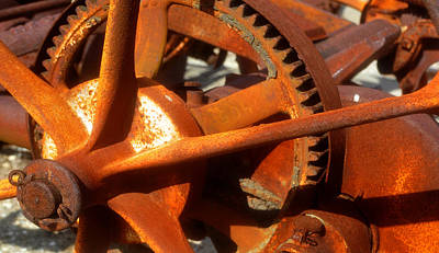 Photograph - Gears Of Progress by David Lee Thompson