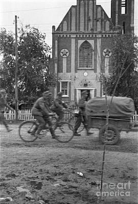 Photograph - 1. Gebirgsjager Division by Oleg Konin