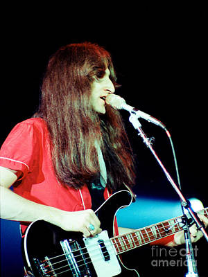 Photograph - Geddy 1980 by Daniel Larsen