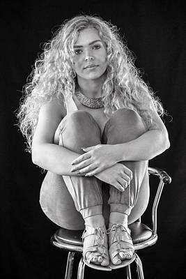 Photograph - Gemma by Jeremy Lavender Photography