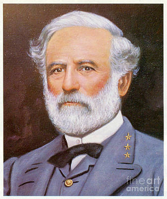 Water Droplets Sharon Johnstone - Gen. Robert E. Lee by Frederick Holiday