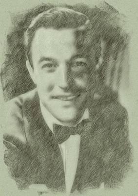 Icon Drawing - Gene Kelly By John Springfield by John Springfield
