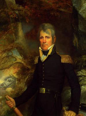 Painting - General Andrew Jackson by John Wesley Jarvis