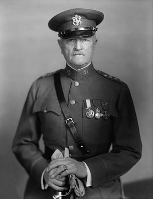 World War One Photograph - General John Pershing by War Is Hell Store