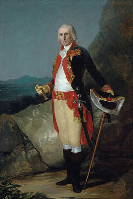 Elderly Painting - General Jose De Urrutia by Francisco Goya