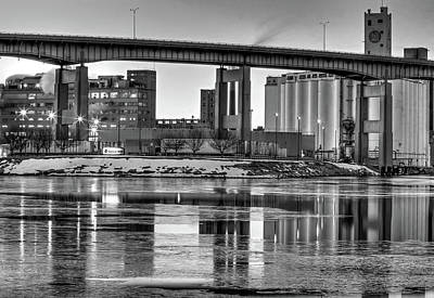 Photograph - General Mills From The River by Don Nieman