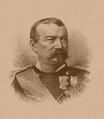 General Philip Sheridan Art Print by War Is Hell Store