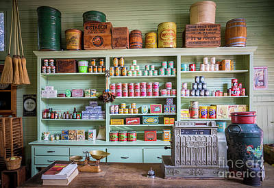 Old General Store Photograph - General Store by Inge Johnsson
