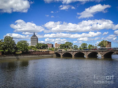 Photograph - Genesee River View by Joann Long