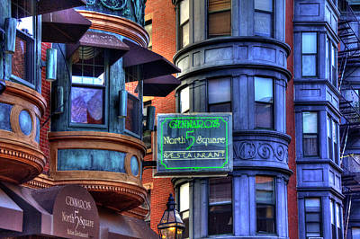 Photograph - Gennaro's 5 North Square - Boston by Joann Vitali