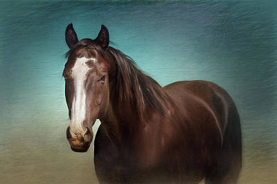 Gentle Soul Art Print by Debby Herold