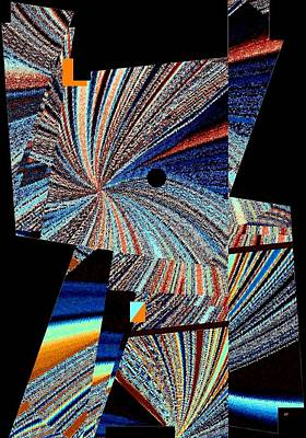 Digital Art - Geometric Abstract 1 by Will Borden