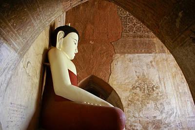 Photograph - Geometric Buddha by Michele Burgess