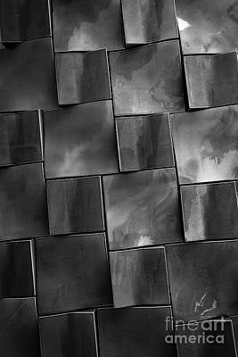 Photograph - Geometrix Abstract Art by Edward Fielding