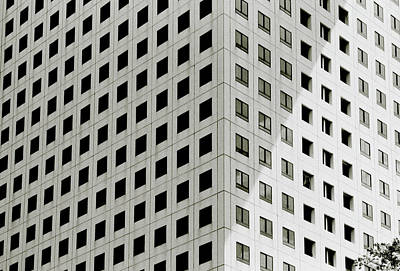 Photograph - Geometry In The City by Shaun Higson