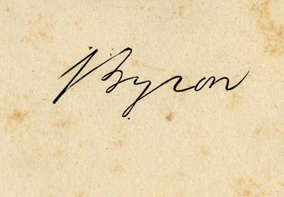 Lord Drawing - George Gordon Lord Byron 1788 1824 by Vintage Design Pics