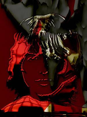 Harrison Mixed Media - George Harrison Art by Marvin Blaine