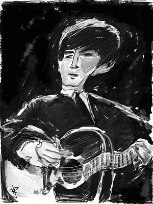 Music Digital Art - George by Russell Pierce