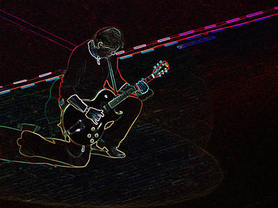 Massey Hall Wall Art - Photograph - George Thorogood And The Destroyers by Spencer Bush