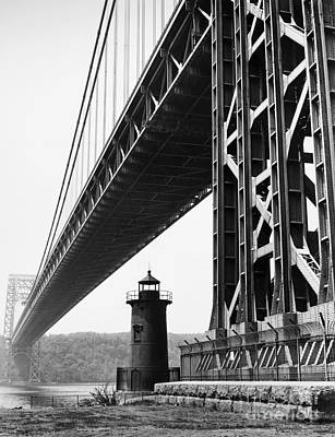 Painting - George Washington Bridge by Granger