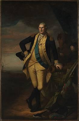 George Washington Original by Charles Willson Peale