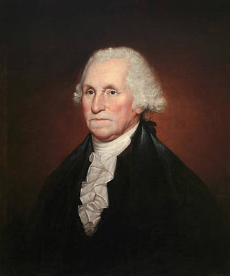 George Washington Art Print by Rembrandt Peale
